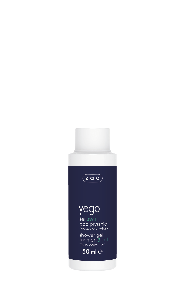 yego travel size żel 3 w 1 pod prysznic
